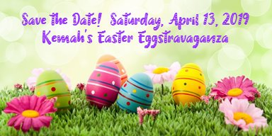 Save the Date! April 13 - Kemah's Easter Eggstravaganza